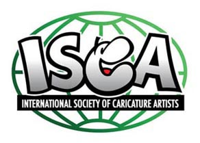 International Society of Caricature Artists - Logo